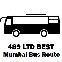 489 LTD Bus route Mumbai Shivaji Nagar Depot to Dahisar Bridge