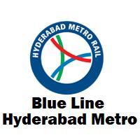 Blue Line Hyderabad Metro