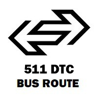 511 DTC Bus Route Dhaula Kuan to Badarpur Mb Road