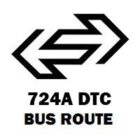 724A DTC Bus Route Uttam Nagar Terminal to Badarpur Border
