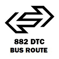 882 DTC Bus Route Uttam Nagar Terminal to Holambi Kalan Jj Colony