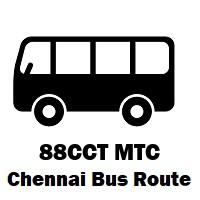 88CCT Bus route Chennai Saidapet to Kundrathur B.S