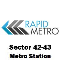 Sector 42-43 (Rapid Metro)