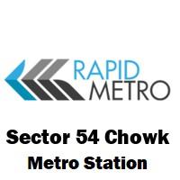 Sector 54 Chowk (Rapid Metro)