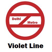 Violet Line Delhi Metro
