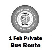 1- feb Private Bus route Kolkata Sealdah to Fatehpur