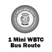 1 Mini Bus route Kolkata Bandhaghat to Howrah