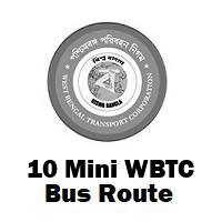 10 Mini Bus route Kolkata Ballykhal to Howrah