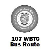 107 Bus route Kolkata Gariahat to Howrah