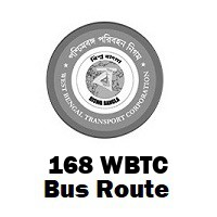 168 Bus route Kolkata Nagerbazar to Howrah