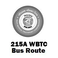 215A Bus route Kolkata Salt Lake (Karunamayee) to Howrah Stn.