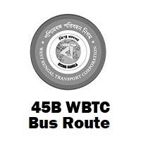 45B Bus route Kolkata Sealdah to Garia Station