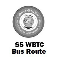 S5 Bus route Kolkata Lake Town to B.B.D. Bag / Esplanade