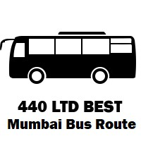 440 LTD Bus route Mumbai Wadala Depot to Borivali Station (E)