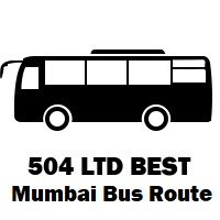 504 LTD Bus route Mumbai Wadala Depot to Jalvayu Vihar (Kharghar)