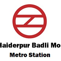 Haiderpur Badli Mor