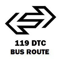 119 DTC Bus Route Bajitpur to Fatehpuri