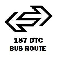 187 DTC Bus Route Siraspur to Palika Kendra