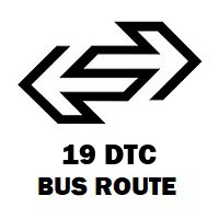 19 DTC Bus Route Nizamuddin Railway Station to Jahangirpuri Block E
