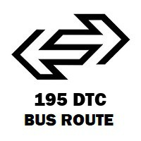 195 DTC Bus Route Siraspur to Azadpur