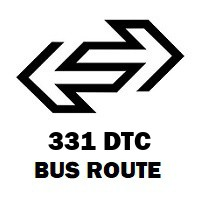 331 DTC Bus Route Nand Nagri Extension to Shivaji Stadium