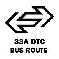33A DTC Bus Route Badarpur Khadar to Noida Sector 3