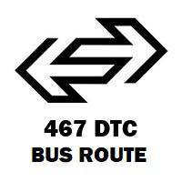 467 DTC Bus Route Gautampuri to New Delhi Railway Station