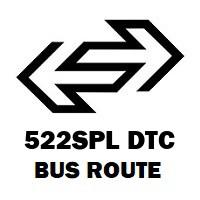 522SPL DTC Bus Route New Delhi Railway Station Gate No 2 to Ambedkar Nagar Terminal