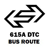 615A DTC Bus Route Minto Road Terminal to Poorvanchal Hostel