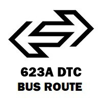 623A DTC Bus Route Anand Vihar Isbt to Vasant Vihar Cpwd Colony