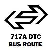 717A DTC Bus Route Badarpur Mb Road to Kapashera Border