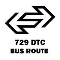 729 DTC Bus Route Mori Gate to Kapashera Border