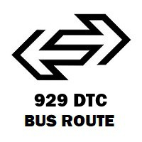 929 DTC Bus Route Fatehpuri to Mubarakpur Dabas