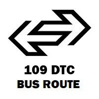 109 DTC Bus Route Banker Village to Fatehpuri