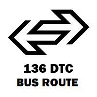 136 DTC Bus Route Azadpur to Ghoga Village