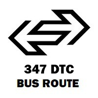 347 DTC Bus Route Noida Sector 34 Up Roadways Bus Terminal to Isbt