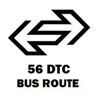 56 DTC Bus Route Vasant Vihar Cpwd Colony to New Delhi Railway Station Gate No 2