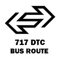 717 DTC Bus Route Badarpur Mb Road to Shahbad Mohammad Pur