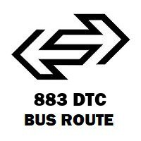 883 DTC Bus Route Kashmere Gate ISBT to Uttam Nagar Terminal