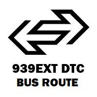 939EXT DTC Bus Route Anand Vihar Isbt to Inder Enclave