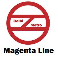 Magenta Line Delhi Metro