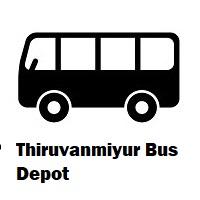 Thiruvanmiyur bus depot