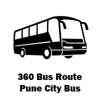 360 Bus route Pune Alandi Bus Stand to Balewadi
