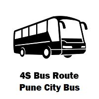 4S Bus route Pune Pune Station Depot to Alandi Bus Stand
