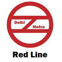 Red Line Delhi Metro