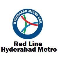 Red line Hyderabad Metro