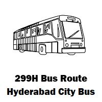 299H Bus route Hyderabad Womens College Bus Stop to High Court Colony Bus Stop