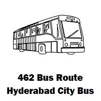 462 Bus route Hyderabad Womens College Bus Stop to Piglipuram