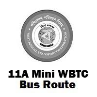 11A Mini Bus route Kolkata Behala to Howrah