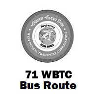 71 Bus route Kolkata Salt Lake to Howrah Maidan
